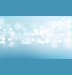 blue light blur glitter or sparkling background vector image