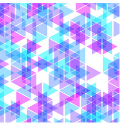 colorful abstract geometric business background vector image
