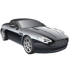 gentlemans car vector image