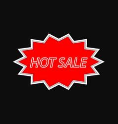 Hot sale vintage signboard on a dark background vector