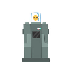 robotic machine artificial intelligence vector image