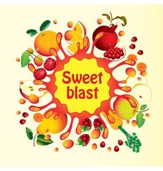 Sweet blast vector
