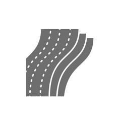 three-layer toilet paper napkin grey icon vector image