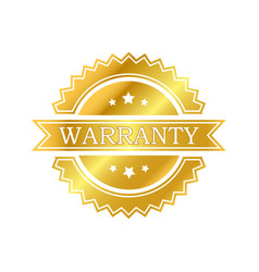 warranty vector image