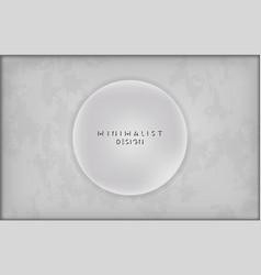 white circle design for websites vector image