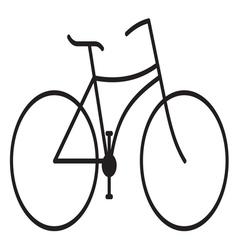 Bike stilizovana1 vector image