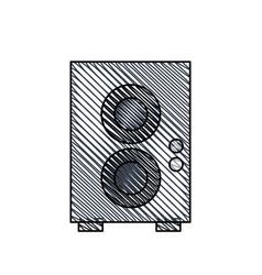 speaker sound audio image vector image