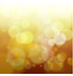 abstract yellow spring blur background vector image