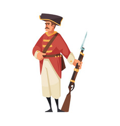 Army soldier pirate composition vector