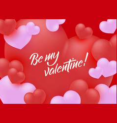 Happy valentines day special offer design vector