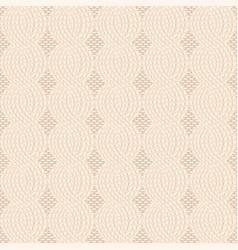 knit beige pattern vector image