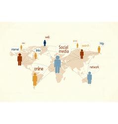Social media vector