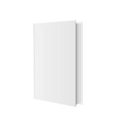 Stylish book mockup vector