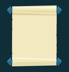 stylized parchment vector image