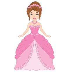 Princess with Tiara vector image