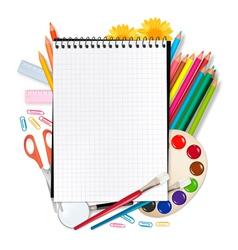school equipment vector image
