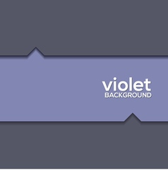 Violet Graphic Background vector image vector image