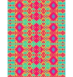 Aztec tribal mexican seamless pattern vector