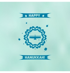 Blurhanukkah vector