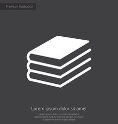 book premium icon vector image
