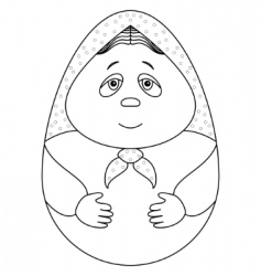 Doll Matryoshka vector