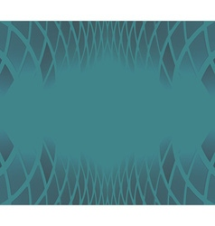 ornate background blue vector image vector image