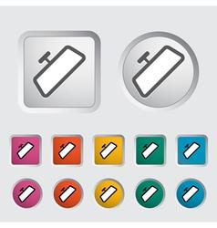 icon mirrors vector image