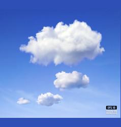 Speech cloud vector image vector image