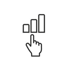 Analysis icon vector