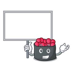 bring board ikura character cartoon style vector image
