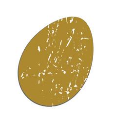 easter egg vintage vector image