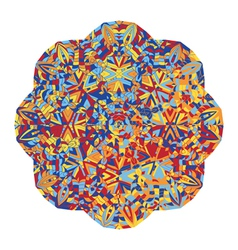 New abstract image with kaleidoscope vector