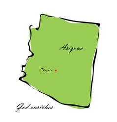 State arizona vector