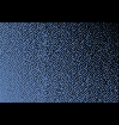 The banner blue sequins background mosaic sequins vector
