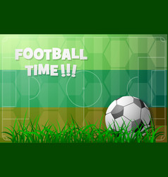 football theme with russian flag vector image vector image
