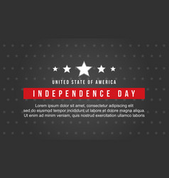 Collection stock of independence day style vector