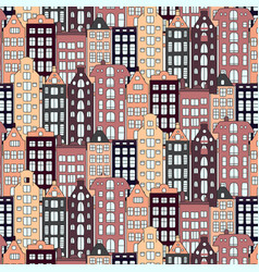 europe houses and building vector image