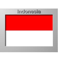 Indonesia flag flag vector