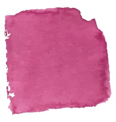 Magenta watercolor vector image