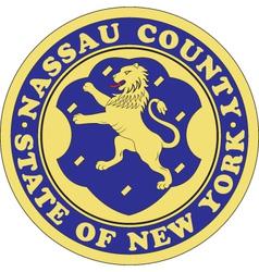 Nassau County Seal vector