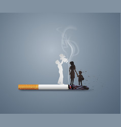 no smoking day world vector image