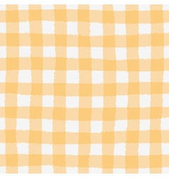 Seamless pattern with checkered geometric texture vector image