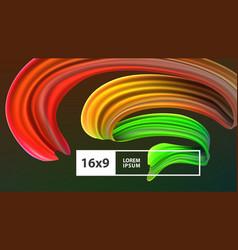 stock multicolored realistic vector image