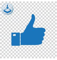 Thumb icon vector