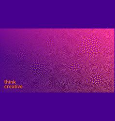 vibrant modern background minimalist style vector image