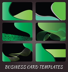 business-card-templates-5 vector image
