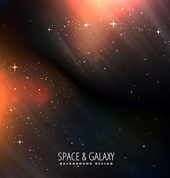 bright universe background vector image