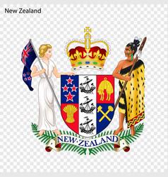 emblem of new zealand vector image