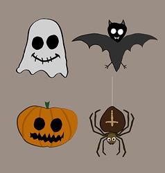 Halloween creatures vector