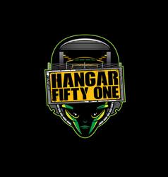 Hangar fifty one vector